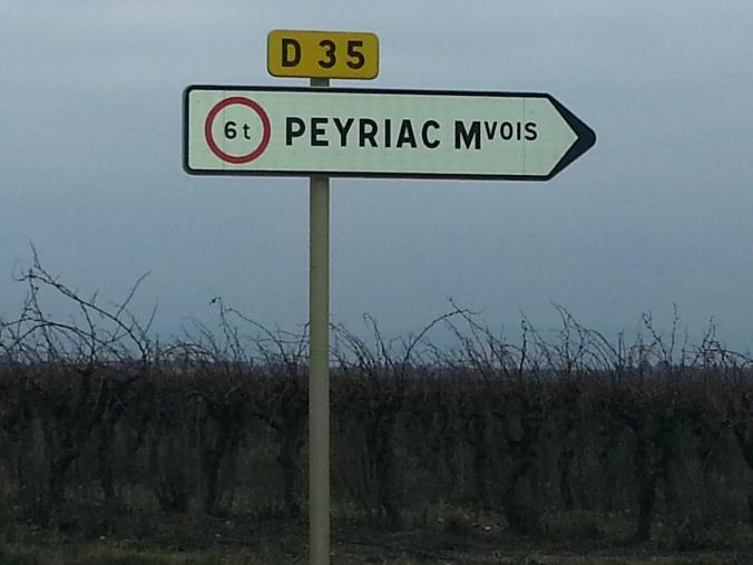 Peyriac signe
