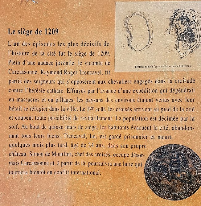 Trnecavel siege carcassonne