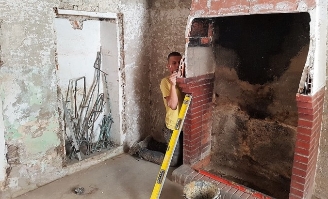 frankrike restaurering hus