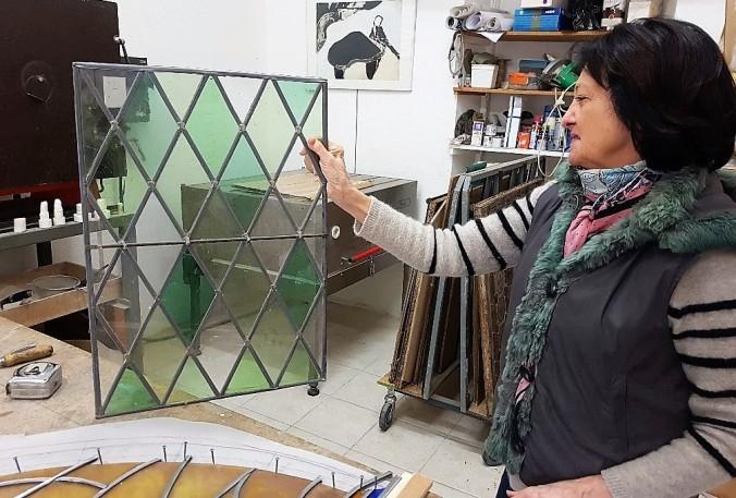 aude vitrail artisan