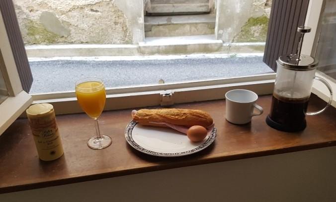 petit dejeuner Peyriac