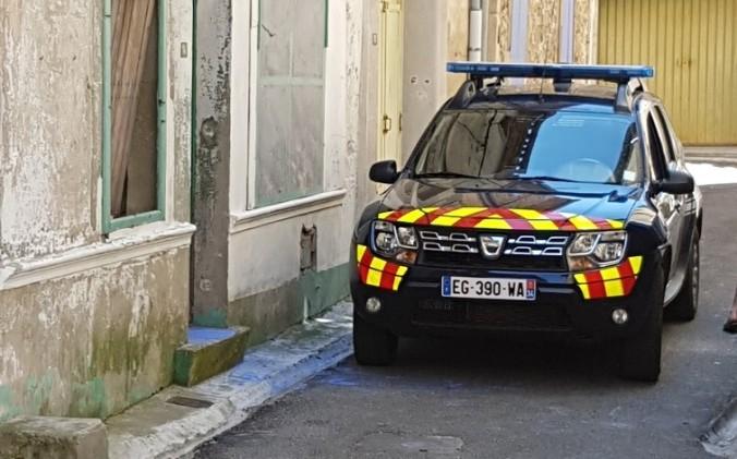 Gendarmeri voiture