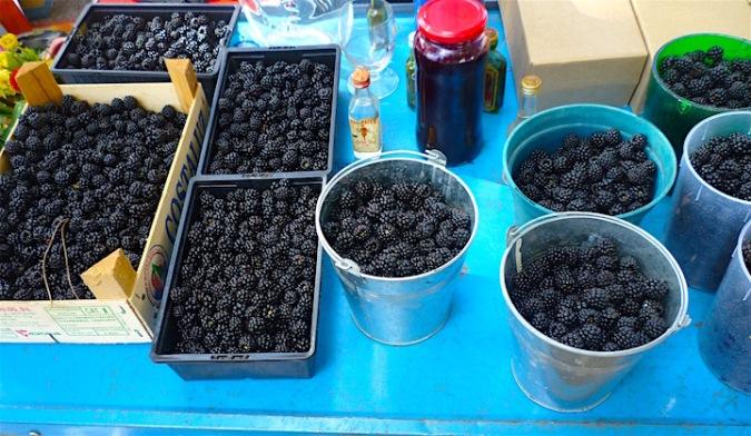vide grenier blackberries