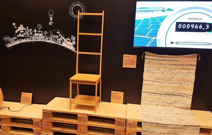miljöhörna IKEA Montpellier