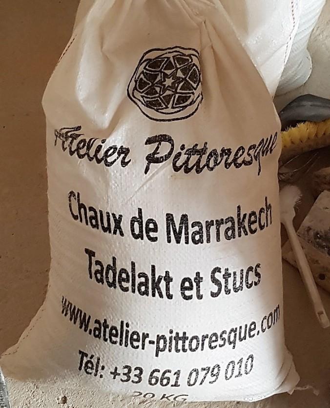 chaux de marrakech