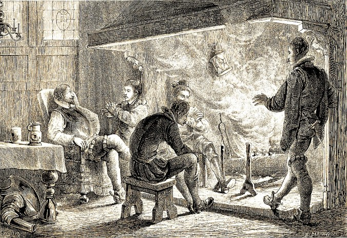 Cheminée_médiévale cred Wikipedia