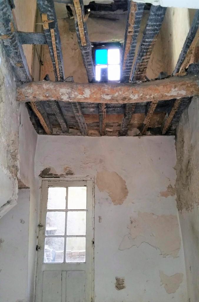 Chambre sans plafond