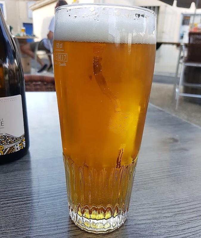 une biere apres travaille