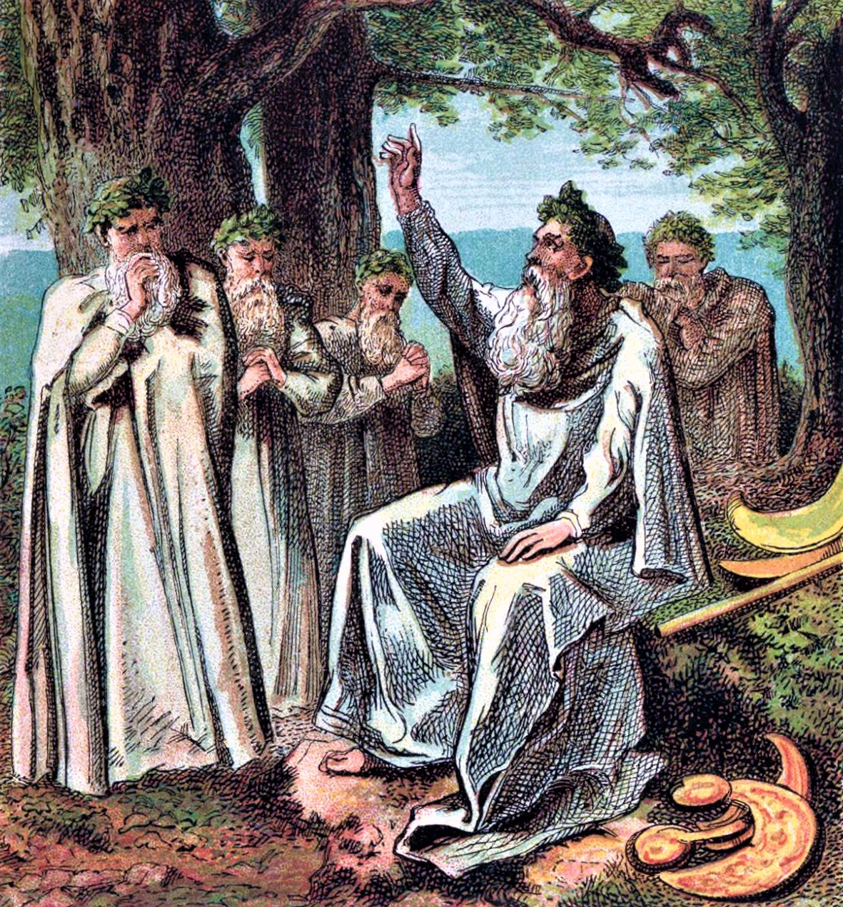 Pictures_of_English_History_Plate_I_-_Druids,_or_British_Priests source Wikipedia